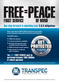 BPW Transpec FREE First Service